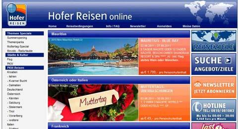 Hofer Reisen Wien