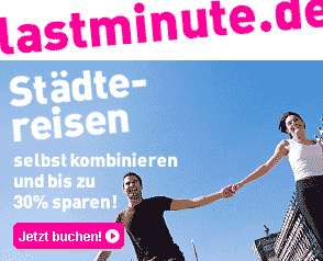 Lastminute Aktion